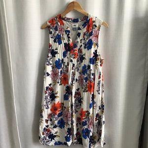 Women's floral swing dress